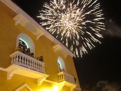 Colombia, New Year's Eve in Cartagena
